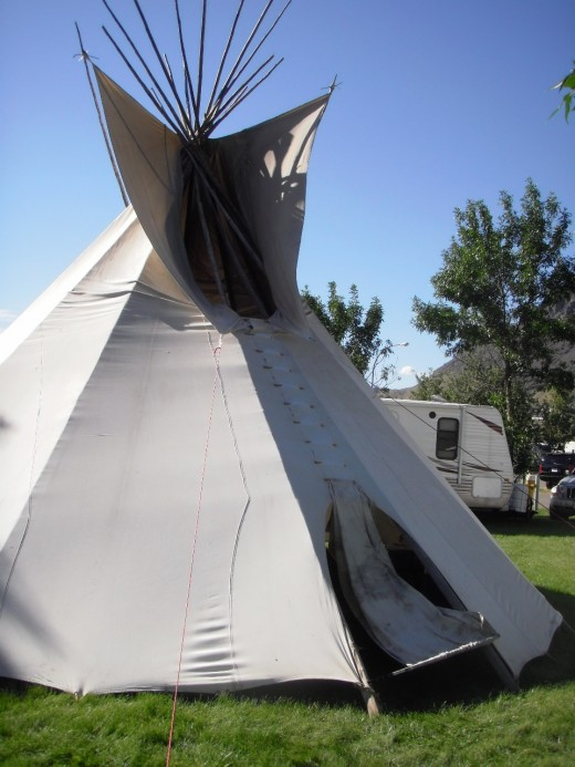 Camping in traditional and modern styles