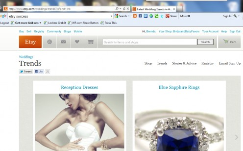 Wedding Registry is available for brides