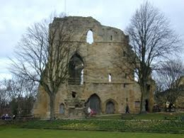 Remains of Knaresborough Castle, cursed dwelling of a mediaeval lord who spawned an enigma