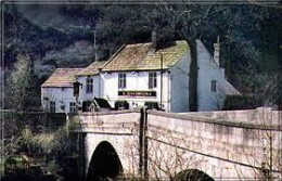 Shipton Inn near Mother Shipton's Cave with that bridge - as long as it stands the world is safe