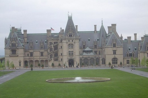The Biltmore Estate is located in Asheville, North Carolina