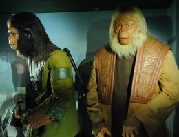 Cornelius and Dr Zaius from Planet of the Apes.