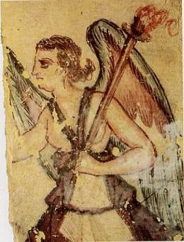 Vanth, an Etruscan Psychopomp