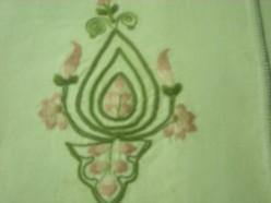 kashmiri embroidery on woolen shawl