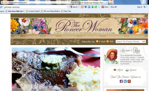 The model Food blog to follow. Notice the high quality, close up pictures of the food and steps to finish a recipe.