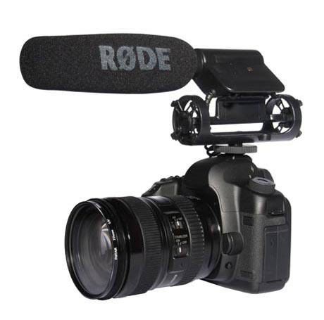 "The RØDE VideoMic is a professional grade 1/2"" condenser shotgun microphone designed for use with consumer video cameras and personal audio recorders."