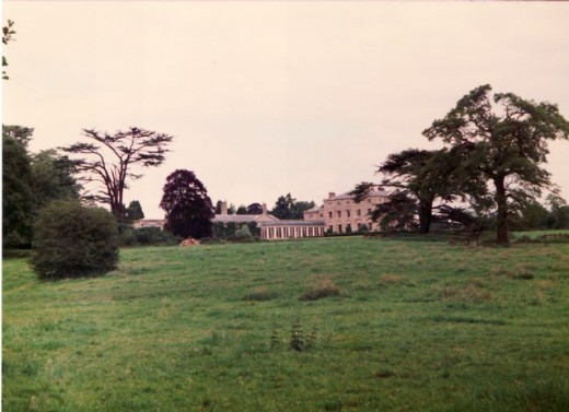 Terling Place, seat of the Baron Rayleigh in Essex