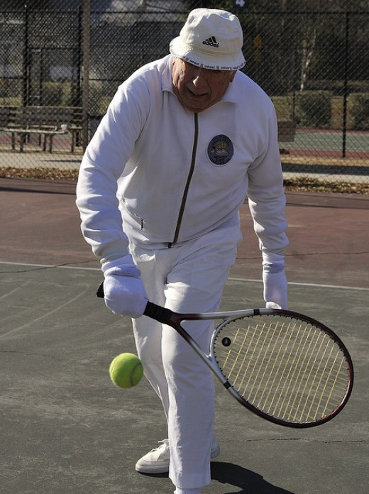 Tennis is a life sport.