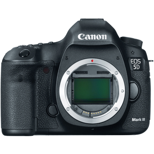 The Canon EOS 5D Mark III Digital Camera (Body Only) is a full-frame 22.3MP DSLR featuring exceptional still image and movie recording capabilities.