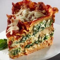 Crockpot Spinach Lasagna