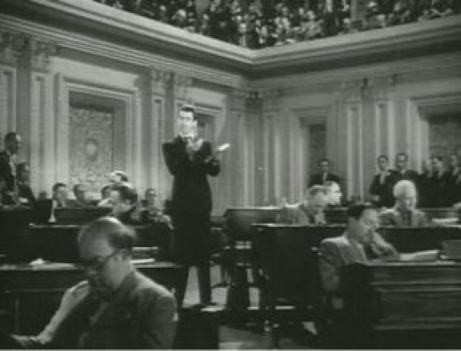 Jimmy Stewart in Mr. Stewart Goes to Washington
