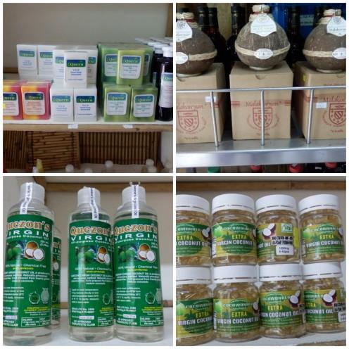 Coconut Soap, Jam, Coconut Oil and Capsule