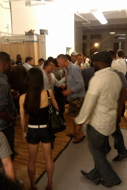 At the Wix Lounge Reveal Party, it turned out to be a blast!