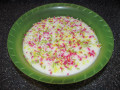 Tejbegríz aka Semolina Pudding - a sweet dessert for the whole family