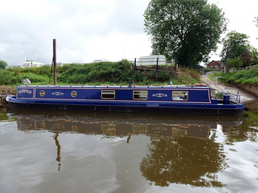 A smart looking barge!