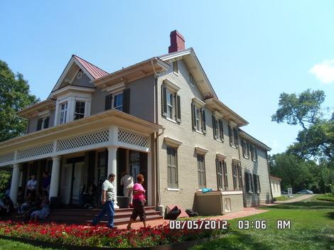 The Home of Frederick Douglas.
