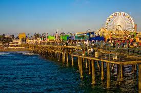 Santa Monica Beach - Popular Beaches in California