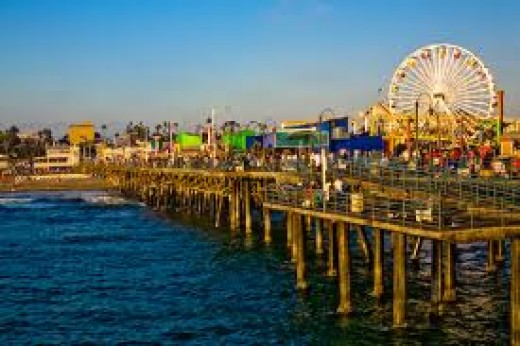 Santa Monica Beach - Popular Beaches in California