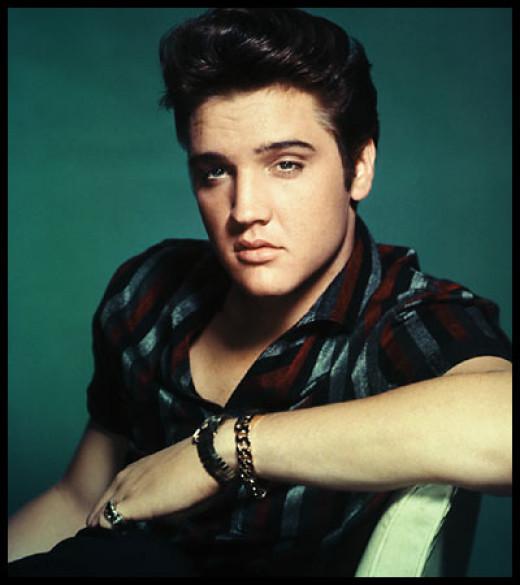 """""""The King""""-- Elvis Presley."""