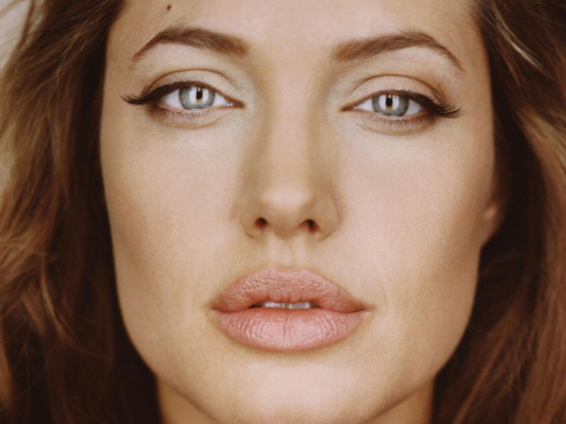 Angelina Jolie-- troubled her way into our hearts.