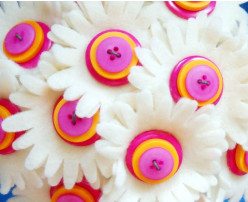 Make your own Button Bouquet