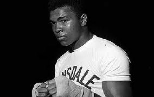 The Young Muhammad Ali had a Masterful Jab and his reflexes were second to none especially for a heavyweight champion.