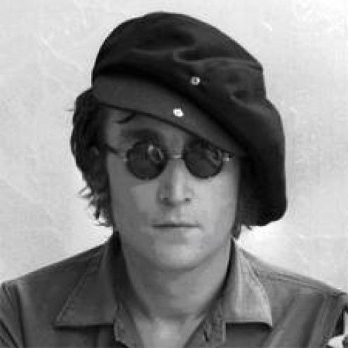 John Lennon was the leader of The Beatles. He was gunned down in New York. He was a true activist who lived and breathed peace.