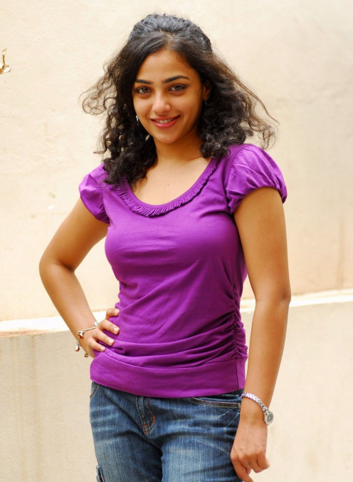 Nithya Menon's Height was an  interesting question