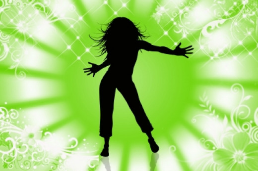 Zumba Is A Great Fitness Activity For ChildrenZumba Silhouette
