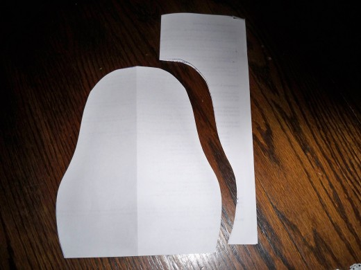 Pear/oval shaped-pattern