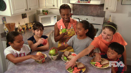 Offer kids healthy snacks