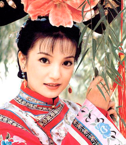Zhao Wei or Vicki Zhao as Xiao Yan Zi (Little bird)