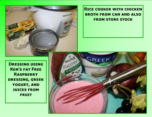 Rice cooker and how to make the dressing