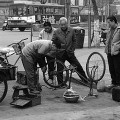 How to prepare for a Bicycle Ride: Fix a Flat and more.