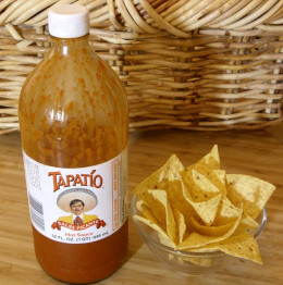 Add Tapatio Hot Sauce to spice things up a bit.