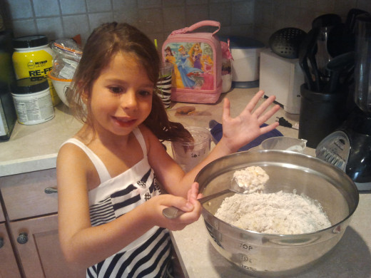 A helper always makes the baking process better!