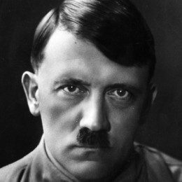 Adolf Hitler. The leader of the German Nazi party.