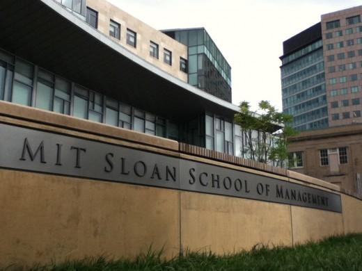 MIT Sloan School of Management building.