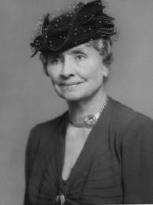 Helen Keller was Deaf and blind but still achieved greatness during her time on earth.