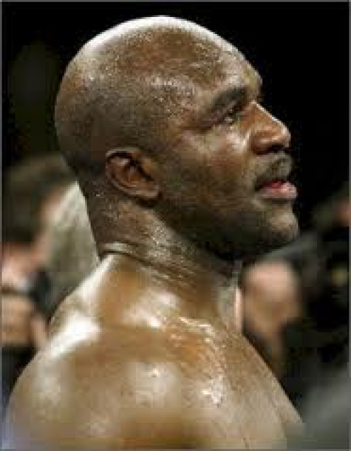 Evander Holyfield was a four time heavyweight champion of the world and an Olympic Bronze medal winner.