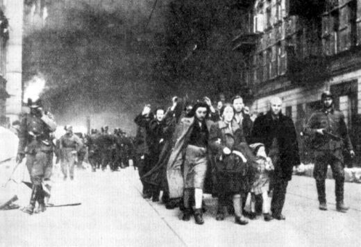 People from Warsaw Ghetto are sent to Treblinka