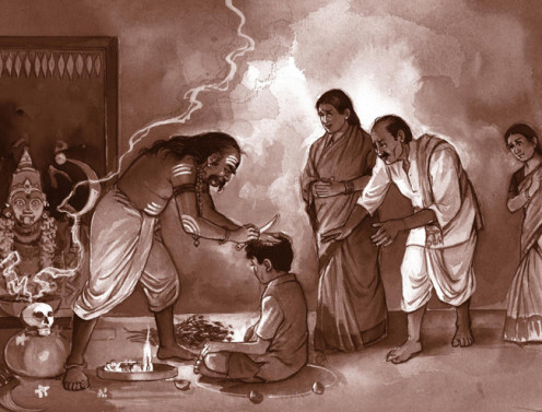 """Little Sathya underwent great torture but never budged from his stance of """"I am God"""""""