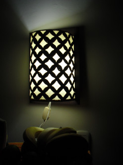 Make a Beautiful Wall Lamp