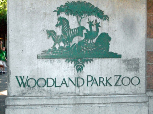 Woodland Park Zoo Sign