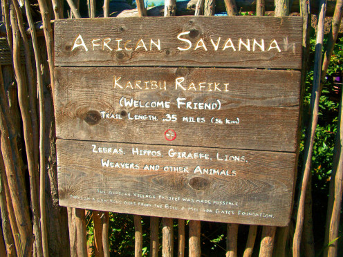 African Savannah Sign