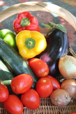 Vegetables straight from the farmer's market
