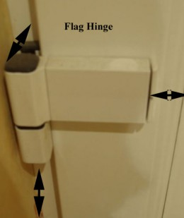 Pvc Door Flag Hinge