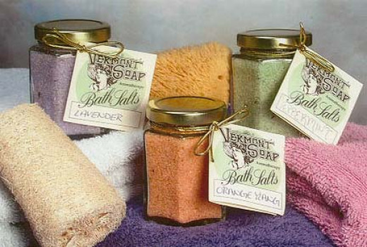 Selection of Bath Salts.