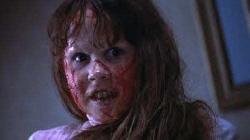 The Exorcist is considered the scariest horror movie ever made. A girl gets possessed by the Devil in the movie and a Catholic Priest must try to exorcise her demons.