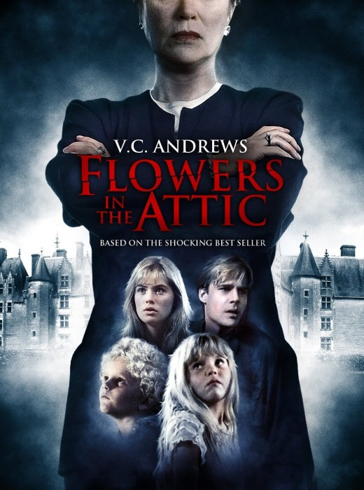 Flowers in the Attic. Good scary movies on Netflix Instant Streaming. Movies about Mansions.